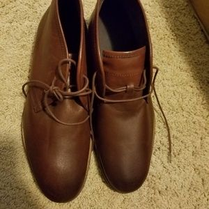 14th and Union Mens Formal Lace Up Leather Shoes